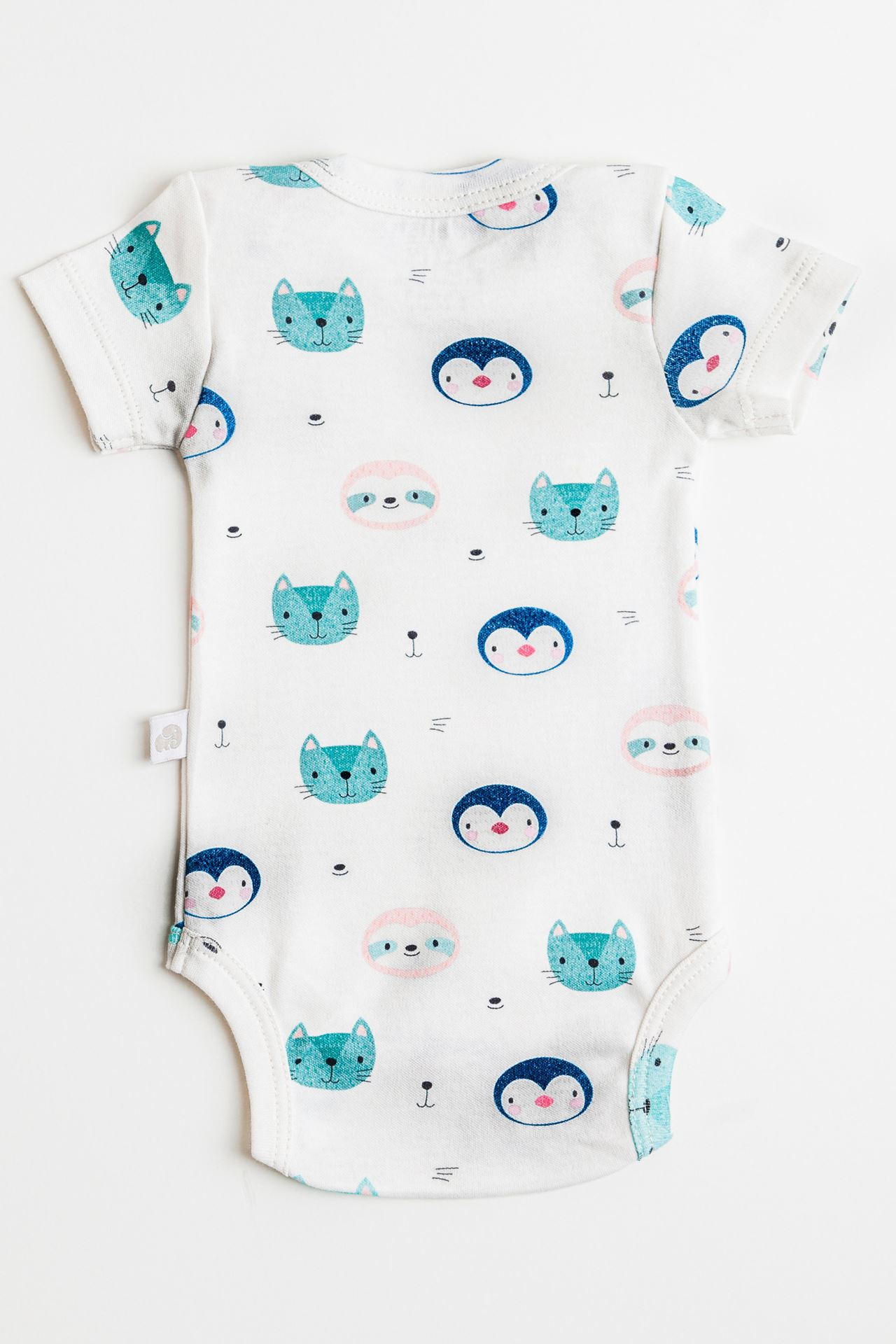 Penguins and Cats Organik Body (1-9 Ay Arası)